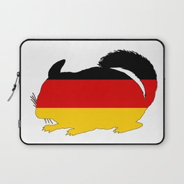 German Flag - Chinchilla Laptop Sleeve