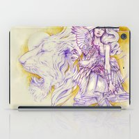archer iPad Cases featuring Lion's Archer by Zien-Art