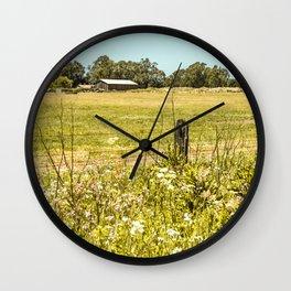 California - North Coast Spring Wall Clock