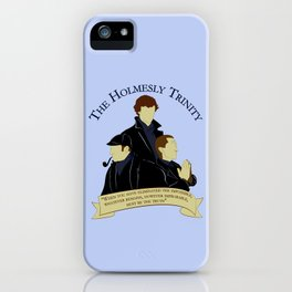 The Holmesly Trinity iPhone Case