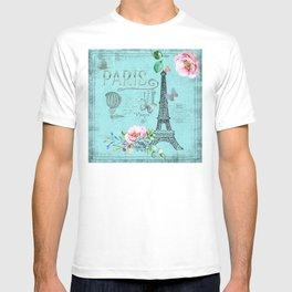 Paris - my blue love T-shirt