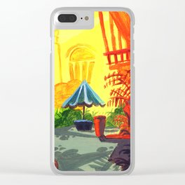 Courtyard Clear iPhone Case