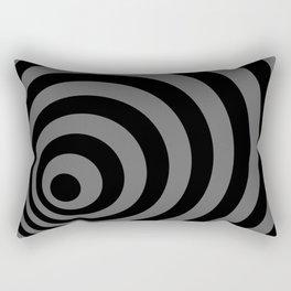 Eccentric Circles Rectangular Pillow