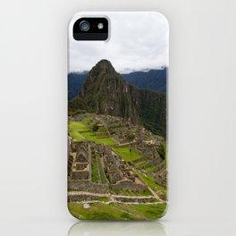 Machu Picchu II iPhone Case