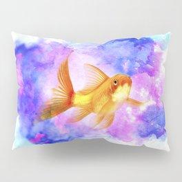 Watercolor Goldfish Pillow Sham