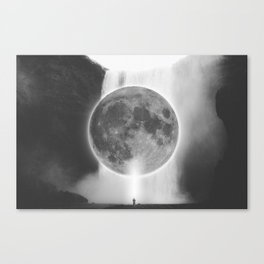 Moon Talks Canvas Print