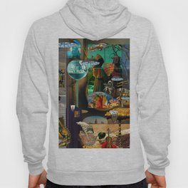 The Desert and the Smoky Town Hoody