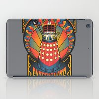 dalek iPad Cases featuring Dalek Nouveau by Mareve Design