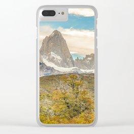 El Chalten, Patagonia, Argentina Clear iPhone Case