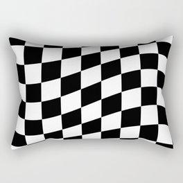 Chequers Rectangular Pillow