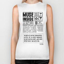 Muse inside Biker Tank