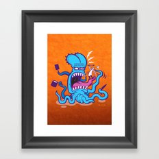 Extreme Cooking Framed Art Print