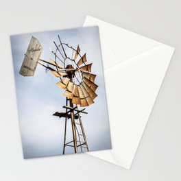 Old Windmill on the Farm Stationery Cards
