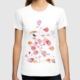 UNDER THE PINK LEAF T-shirt