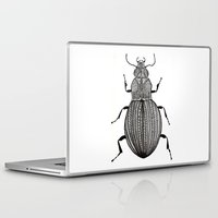 beetle Laptop & iPad Skins featuring Beetle  by Lucia Cordero