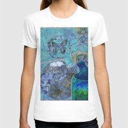 Blue - Green Collage July 2020 T-shirt