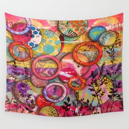 Going Round in Circles Wall Tapestry