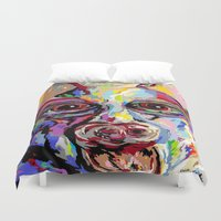german Duvet Covers featuring German Shepherd by EloiseArt