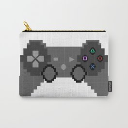 Pixelized Video Game Controller Carry-All Pouch