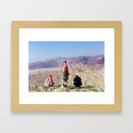 Bedouins Framed Art Print