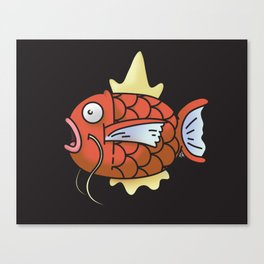 A magic Karp... Canvas Print