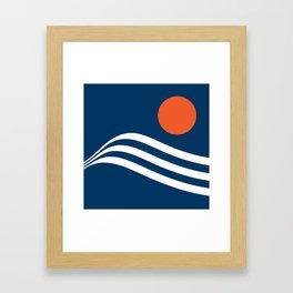 Swell - Marina Framed Art Print
