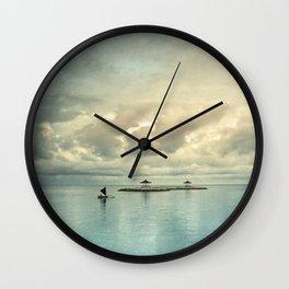 the art of silence Wall Clock