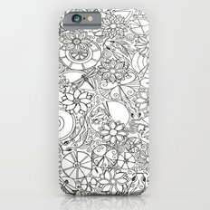 Koi Pond Coloring Page iPhone 6s Slim Case