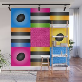 Licorice Candy Art Wall Mural