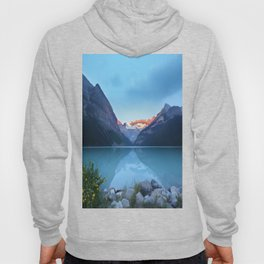 Mountains lake Hoody