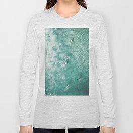 Surfing in the Ocean Long Sleeve T-shirt