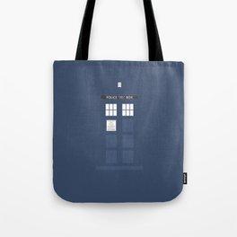 Tardis ( Doctor Who ) Tote Bag