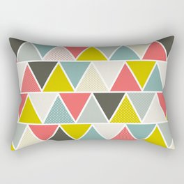 Triangulum Rectangular Pillow
