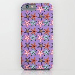 Lavender Sea Stars iPhone Case