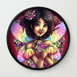 Naoko Fantasy Japanese Fairy Wall Clock