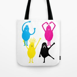 It's fun to print in CMYK Tote Bag