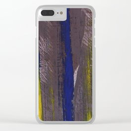 Dark abstract Clear iPhone Case