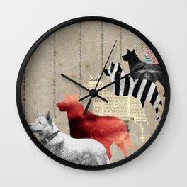 All alone Wall Clock