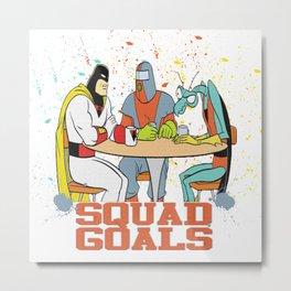 Squad Goals Metal Print