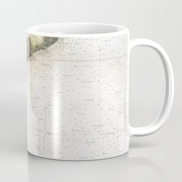 Vintage Georgia & South Carolina Coastline (1874) Coffee Mug