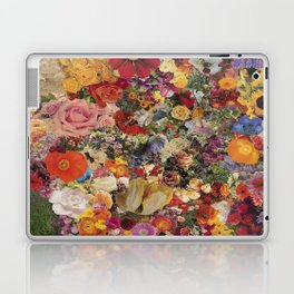 Flower Power Collage Laptop & iPad Skin