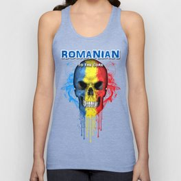 To The Core Collection: Romania Unisex Tanktop