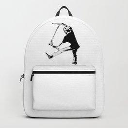 Deck Grabbing - Stunt Scooter Trick Backpack