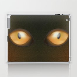 Eye, yellow eye, yellow eyes, yellow, eyes Laptop & iPad Skin