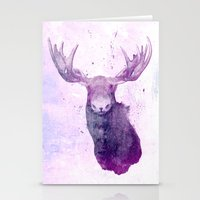 springsteen Stationery Cards featuring Moose Springsteen by Lucy Evans
