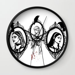 Mother, Maiden, Crone Wall Clock