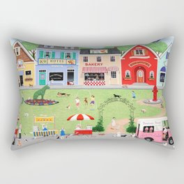 Doggie Heaven Rectangular Pillow