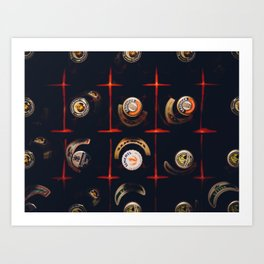 Cool Carate with bottle top Art Print