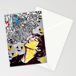 baekhyun dreams Stationery Cards