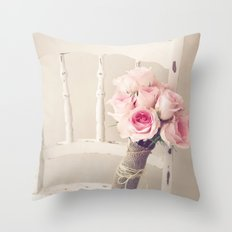 Bouquet Left Throw Pillow